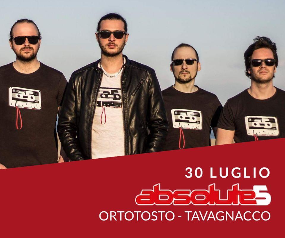 Absolute 5 Live all'Ortotosto di Tavagnacco