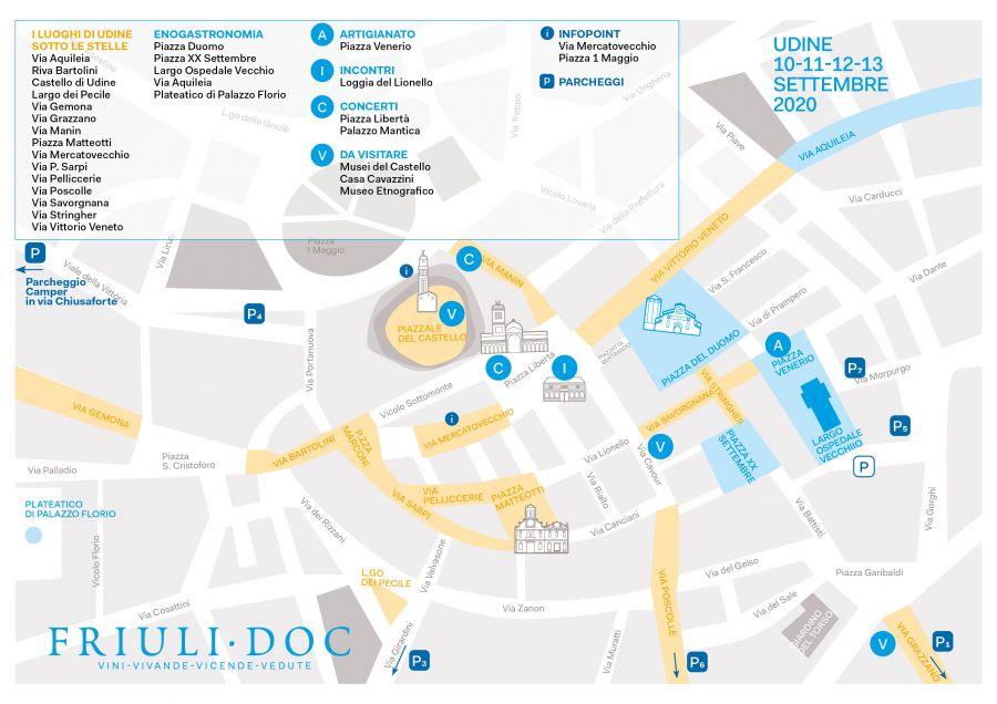 Mappa Friuli Doc 2020