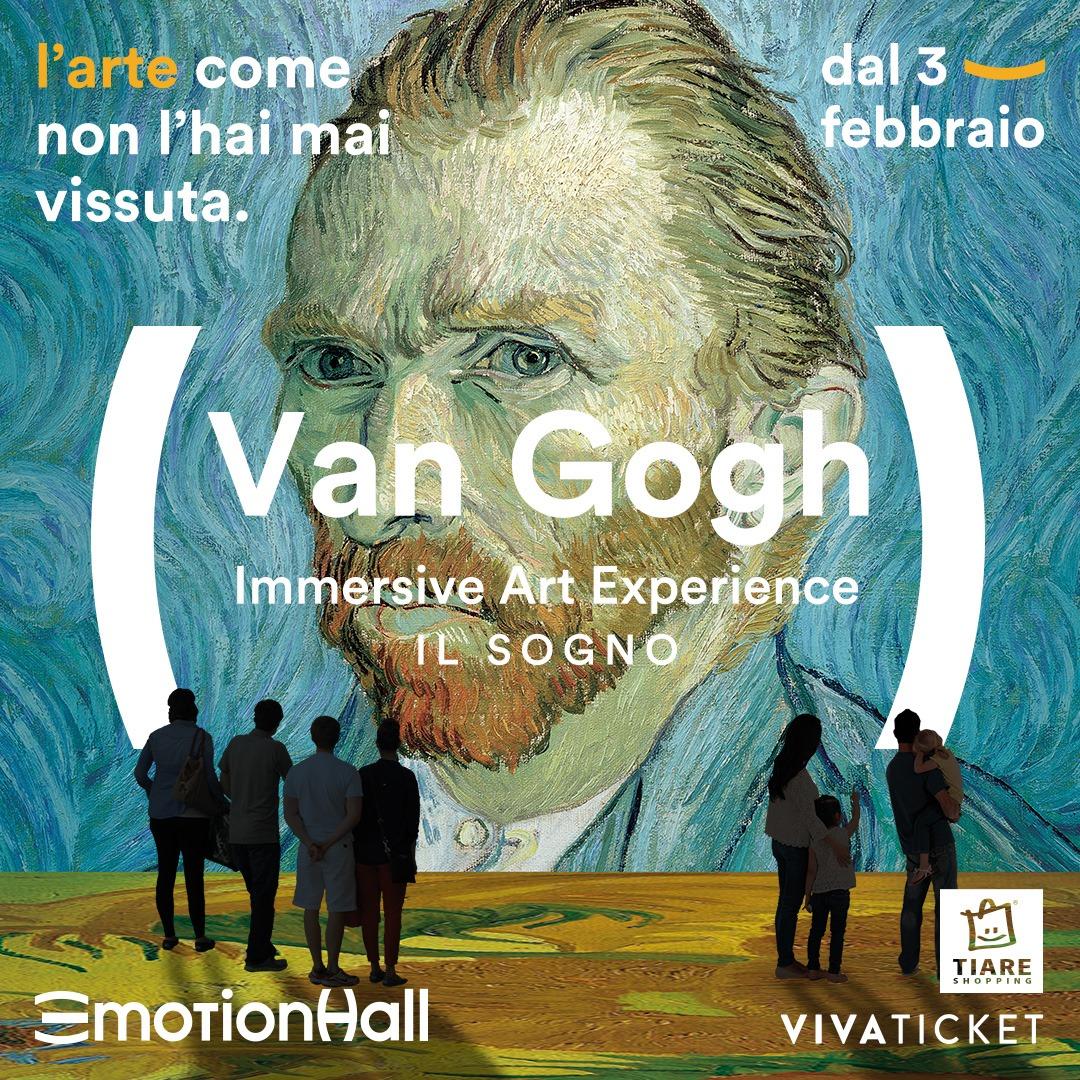 """""""VAN GOGH. IL SOGNO"""" IMMERSIVE ART EXPERIENCE"""