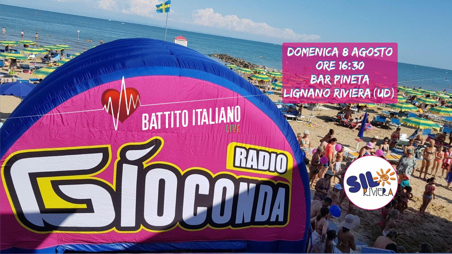 Battito Italiano Live dal Bar Pineta di Lignano Riviera (UD)