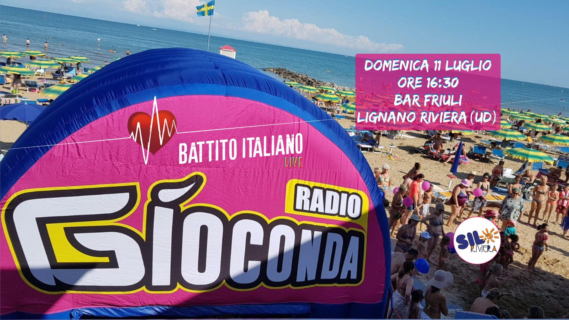 Battito Italiano Live dal Bar Friuli di Lignano Riviera (UD) 2021